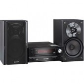 Sharp 1000 Watt Micro System w/iPod/Phone Docking and USB Terminal,AM/FM Tuner